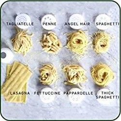 Alle Nudelvariationen des Pastamaker