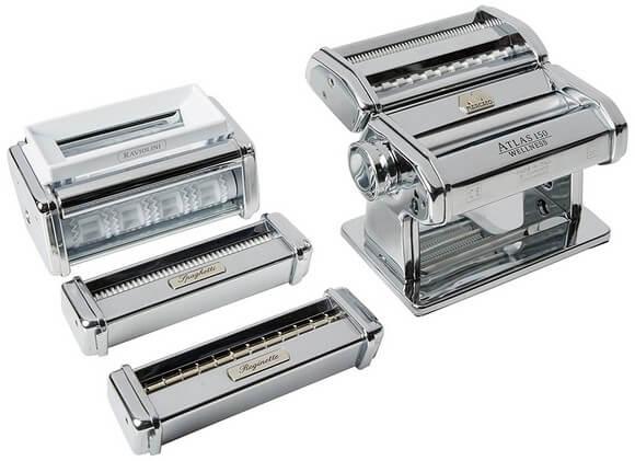Wallfire Manuelle DIY Nudelmaschine Tragbare Edelstahl Nudelmaschine Nudelpresse Druckmaschine mit 5 Modelle K/üchenwerkzeug