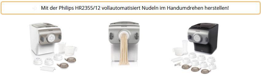 Philips HR2355-12 Pastamaker weiß und scharz