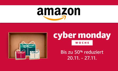Amazon Cyber Monday Woche - 20.11.2017 - 27.11.2017 - Günstige Angebote