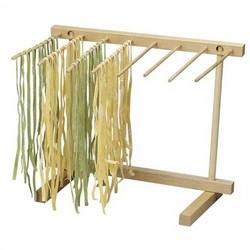 Faltbare Pasta Wäscheständer für eine besser Trocknung der Nudeln
